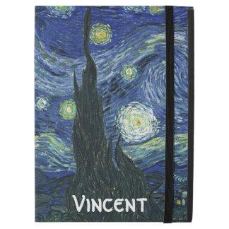 "Starry Night Vincent van Gogh Fine Art Painting iPad Pro 12.9"" Case"