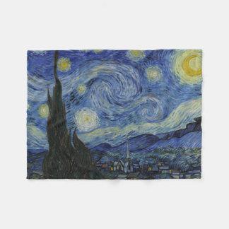 Starry Night Vincent van Gogh Fleece Blanket