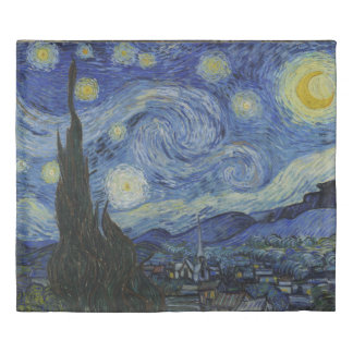 Starry Night Vincent van Gogh King Size Duvet Cover