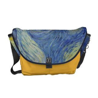 Starry Night Vincent van Gogh Painting Messenger Bag