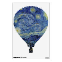 Starry Night Vincent van Gogh Painting Wall Sticker