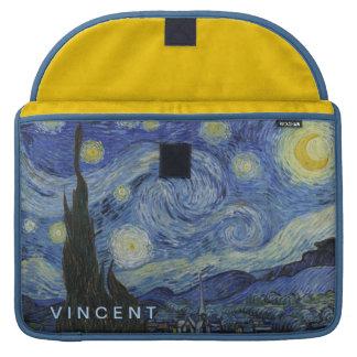 Starry Night Vincent van Gogh Personalized MacBook Pro Sleeve