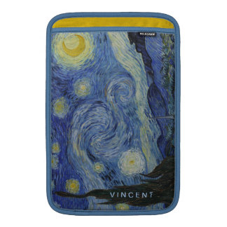 Starry Night Vincent van Gogh Personalized Sleeve For MacBook Air