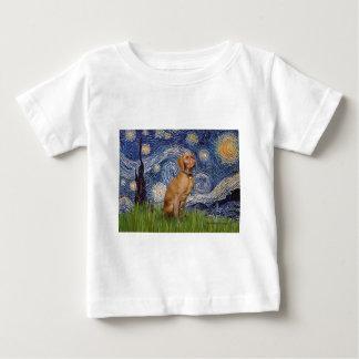 Starry Night - -Vizsla 2 Baby T-Shirt