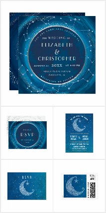 Starry Night Wedding Collection