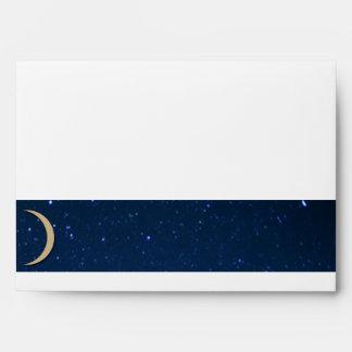 Starry Night Wedding Envelope