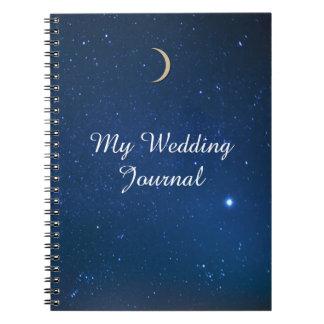 Starry Night Wedding Journal