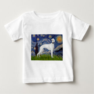 Starry Night - Whippet (11b) Baby T-Shirt