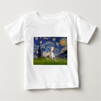Starry Night - Whippet #2 Baby T-Shirt