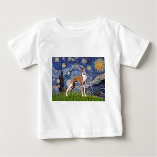 Starry Night - Whippet (stand) Baby T-Shirt