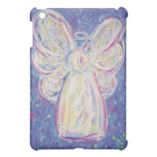 Starry Night White Light Angel iPad Case