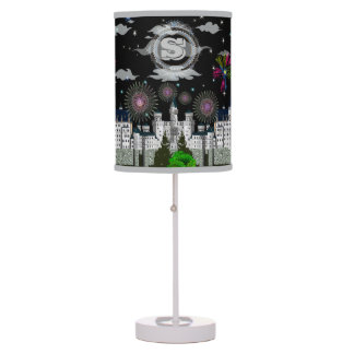 Starry Nights Firework Expo Monogram Lamp