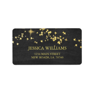 Starry Nights Mailing Labels