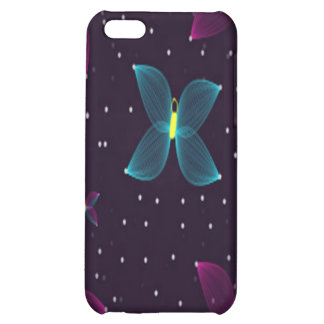 Starry Nights Purple Pink Butterfly Speck Case iPhone 5C Case
