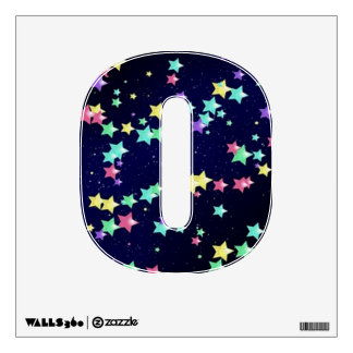 Starry Nights Wall Decal letter O-small