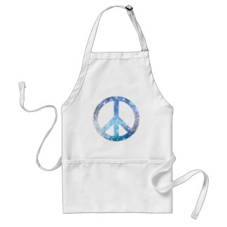 Starry Peace Sign Adult Apron