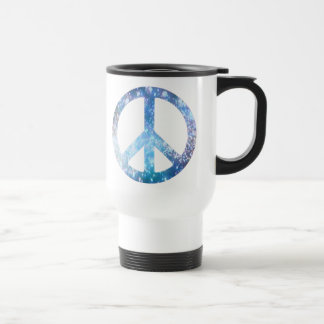 Starry Peace Sign Mug