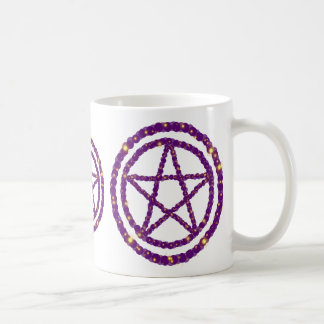 Starry Pentacle Classic White Coffee Mug