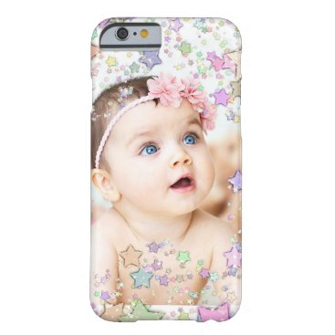 baby_cuteness Starry Personalized Baby Photo Cell Phone Case