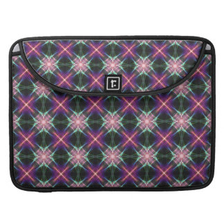 Starry quilt pattern MacBook pro sleeve