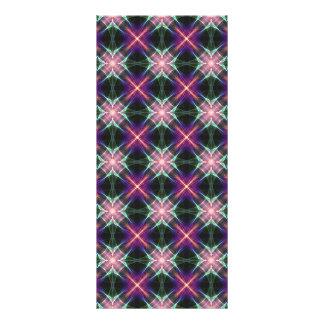 Starry quilt pattern rack card template