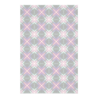 Starry quilt pattern stationery