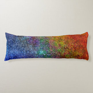 Starry Rainbow of Colors Body Pillow