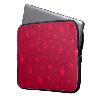 Starry Red Laptop Sleeve