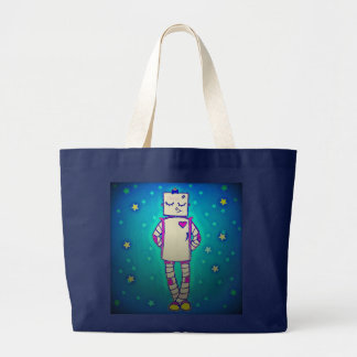 Starry Robot Tote Tote Bag