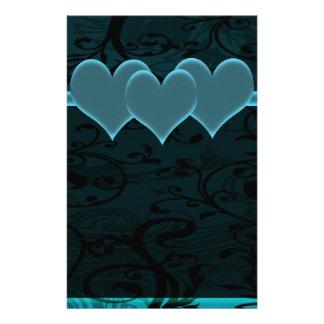 Starry Romance Blue Set Stationery