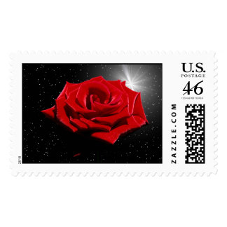 Starry Romantic Night Stamps