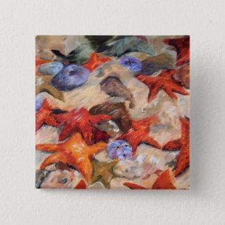Starry Sea - Starfish Button