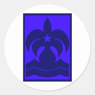 Starry Seas Logo Classic Round Sticker
