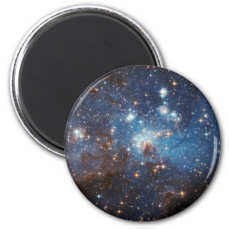 Starry Sky 2 Inch Round Magnet