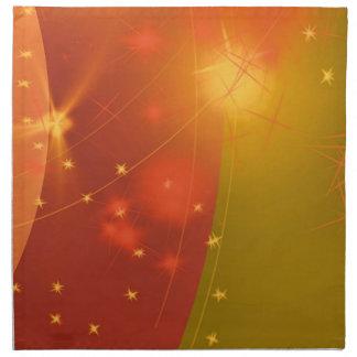 Starry sky cloth napkin