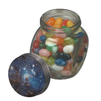 Starry Sky Glass Candy Jars