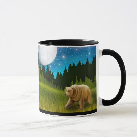 Starry Sky Grizzly Mug