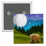 Starry Sky Grizzly Pin