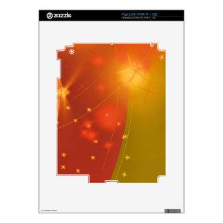 Starry sky iPad 2 decals