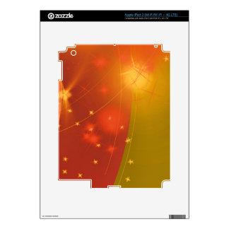 Starry sky iPad 3 decals