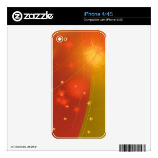 Starry sky iPhone 4 decals
