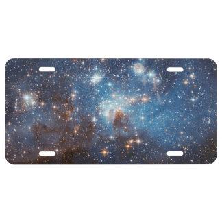 Starry Sky License Plate