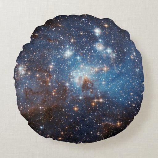 Starry Sky Round Pillow