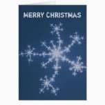 Starry sky - Merry Christmas Fractal Card