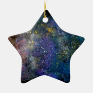Starry sky - orion or milky way cosmos ornaments
