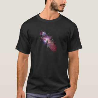 Starry sky painter supernova space star 02 T-Shirt