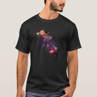 Starry sky painter supernova space star 04 T-Shirt