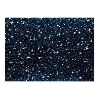 Starry Sky Pattern Card
