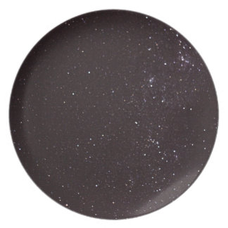 starry sky plate