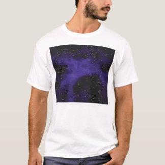 Starry Space Nebula Scene T-Shirt